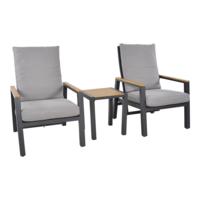 thumb-Lounge Tuinstoelen - Duoset Coda - Charcoal - Lesli Living-5