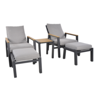 thumb-Lounge Tuinstoelen - Duoset Coda - Charcoal - Lesli Living-6