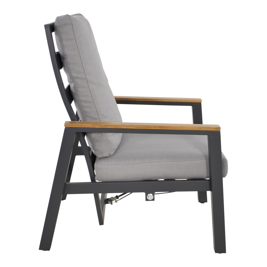 Lounge Tuinstoelen - Duoset Coda - Charcoal - Lesli Living-7