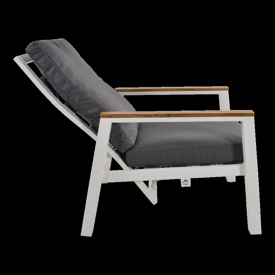 Lounge Tuinstoelen - Duoset Coda - Wit - Lesli Living-6