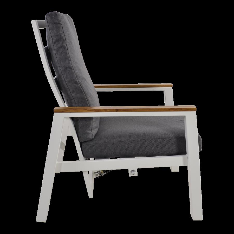 Lounge Tuinstoelen - Duoset Coda - Wit - Lesli Living-5