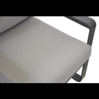 thumb-Stoel-Bank Loungeset - Belezza - Aluminium - Antraciet - Lesli Living-9