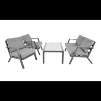 thumb-Stoel-Bank Loungeset - Marah - Aluminium - Lesli Living-3