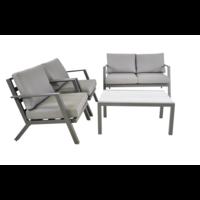 thumb-Stoel-Bank Loungeset - Marah - Aluminium - Lesli Living-2