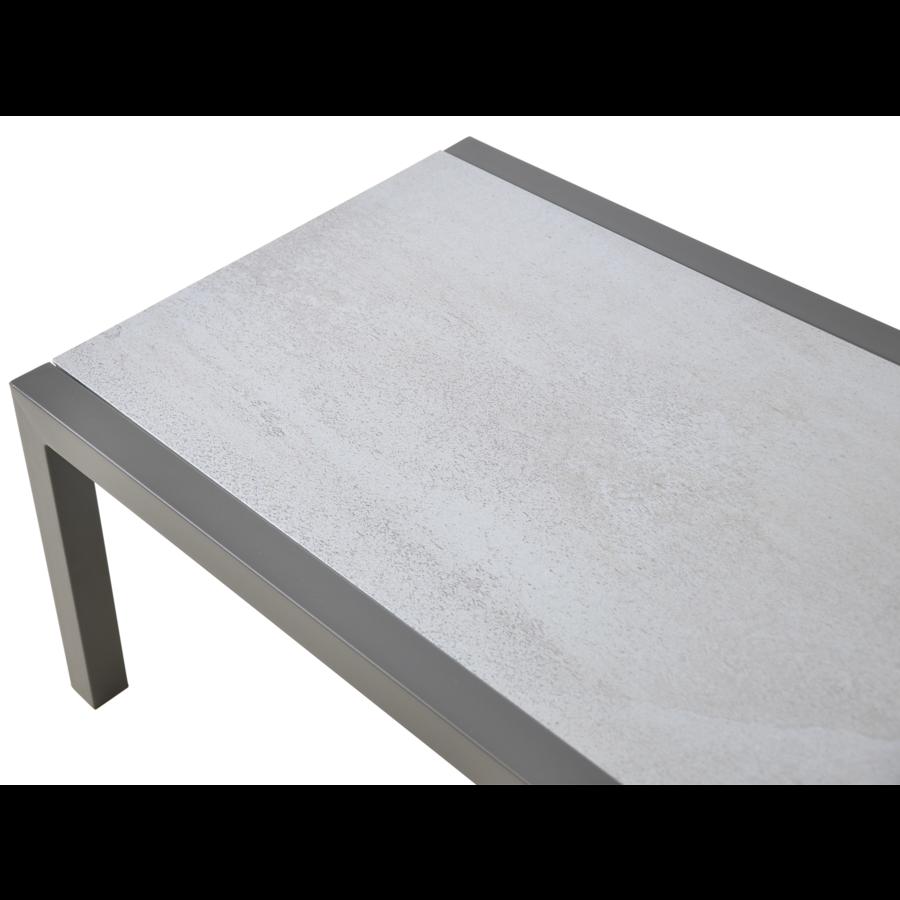 Stoel-Bank Loungeset - Marah - Aluminium - Lesli Living-9