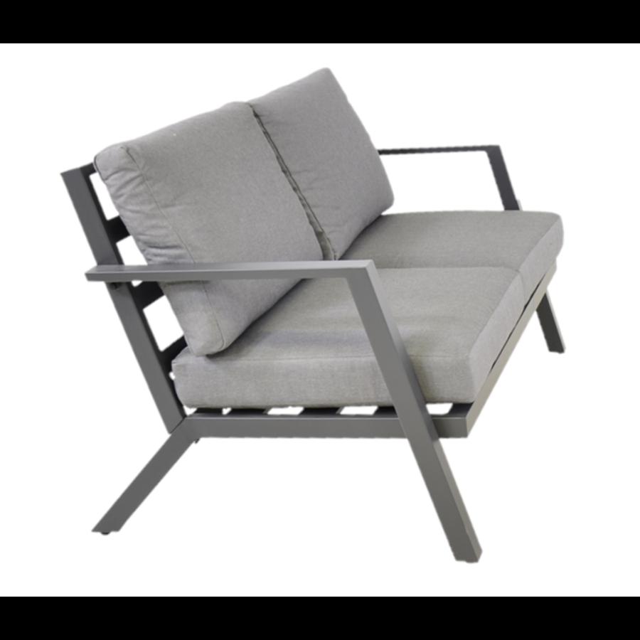 Stoel-Bank Loungeset - Marah - Aluminium - Lesli Living-4