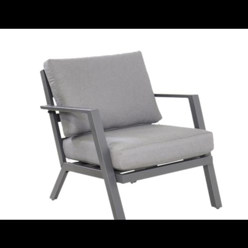 Lesli Living  Stoel-Bank Loungeset - Marah - Aluminium - Lesli Living