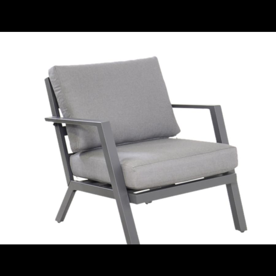 Stoel-Bank Loungeset - Marah - Aluminium - Lesli Living-6