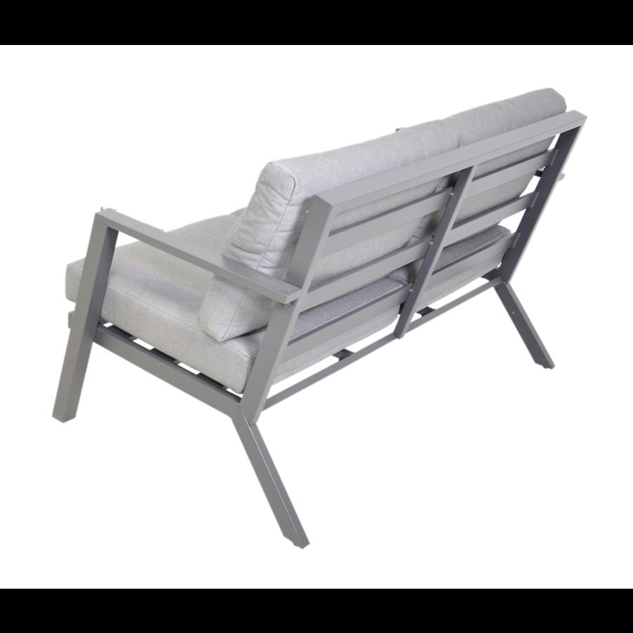 Stoel-Bank Loungeset - Marah - Aluminium - Lesli Living-5