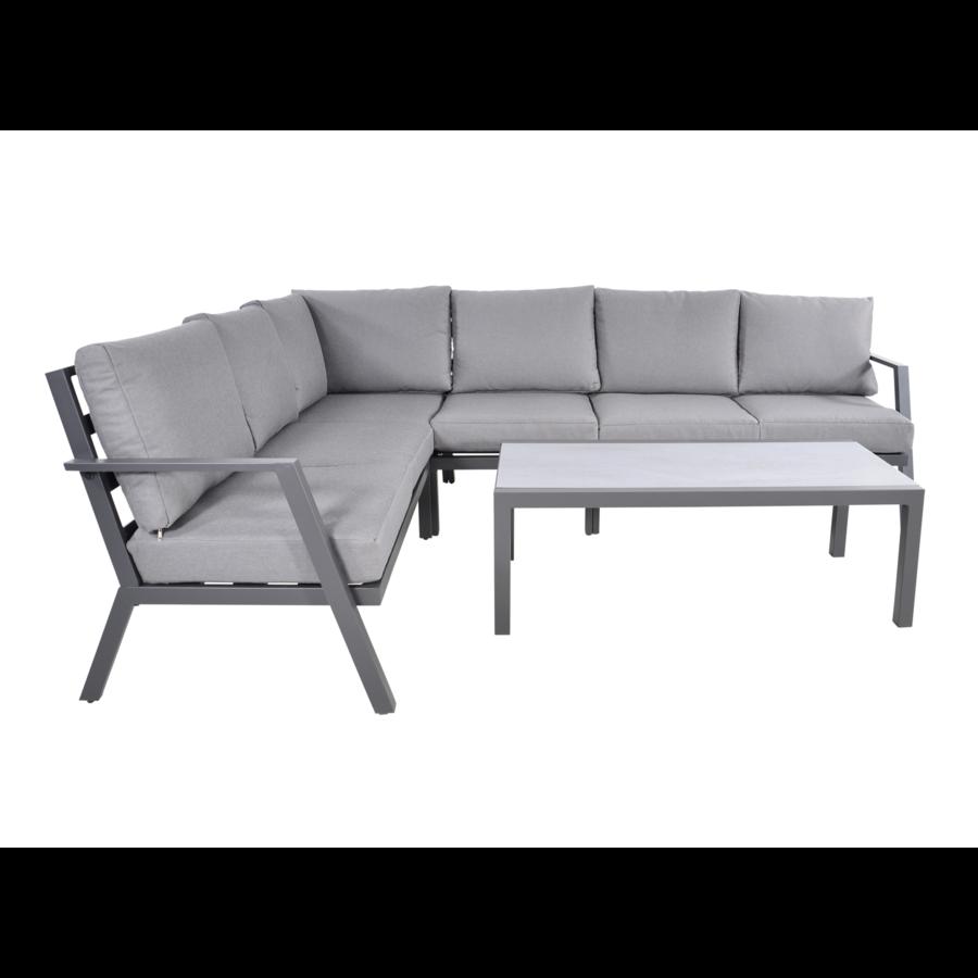 Hoek Loungeset - Marah - Aluminium - Lesli Living-3
