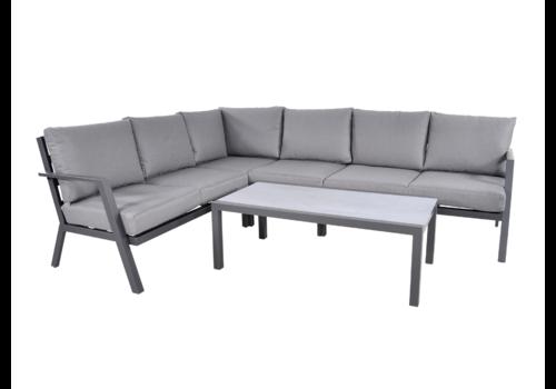 Hoek Loungeset - Marah - Aluminium - Lesli Living
