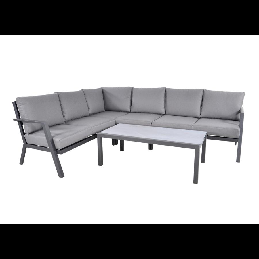 Hoek Loungeset - Marah - Aluminium - Lesli Living-1