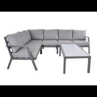 thumb-Hoek Loungeset - Marah - Aluminium - Lesli Living-2
