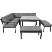 thumb-Dining Loungeset - Xara - Aluminium - Lesli Living-2