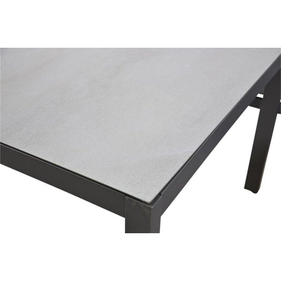 Dining Loungeset - Xara - Aluminium - Lesli Living-9