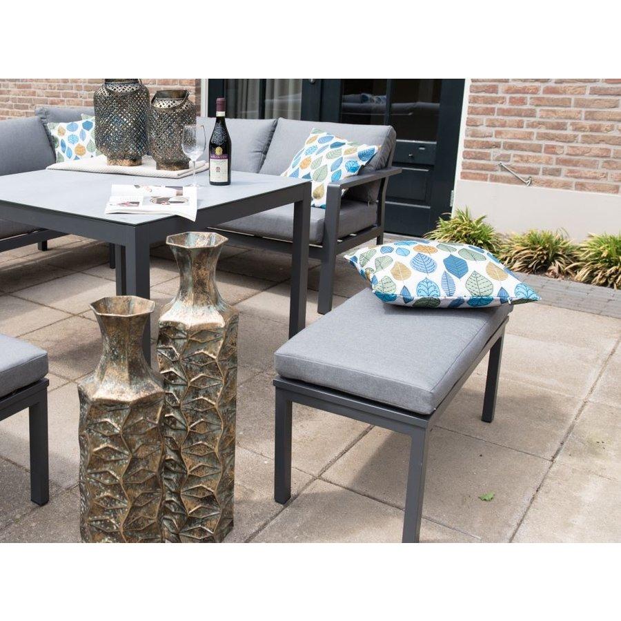 Dining Loungeset - Xara - Aluminium - Lesli Living-6