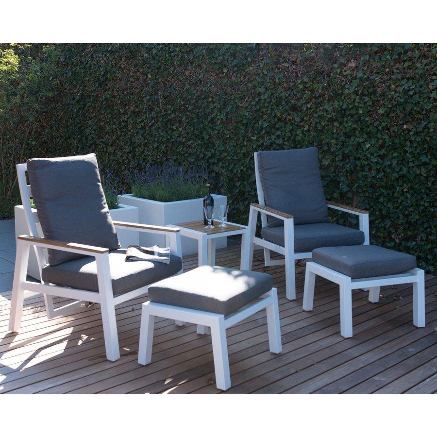 Lounge Tuinstoelen - Duoset Coda - Wit - Lesli Living-3