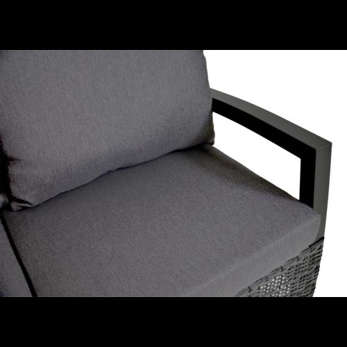 Lesli Living  Hoek Loungeset - Prato Forte - Aluminium/Wicker - Lesli Living