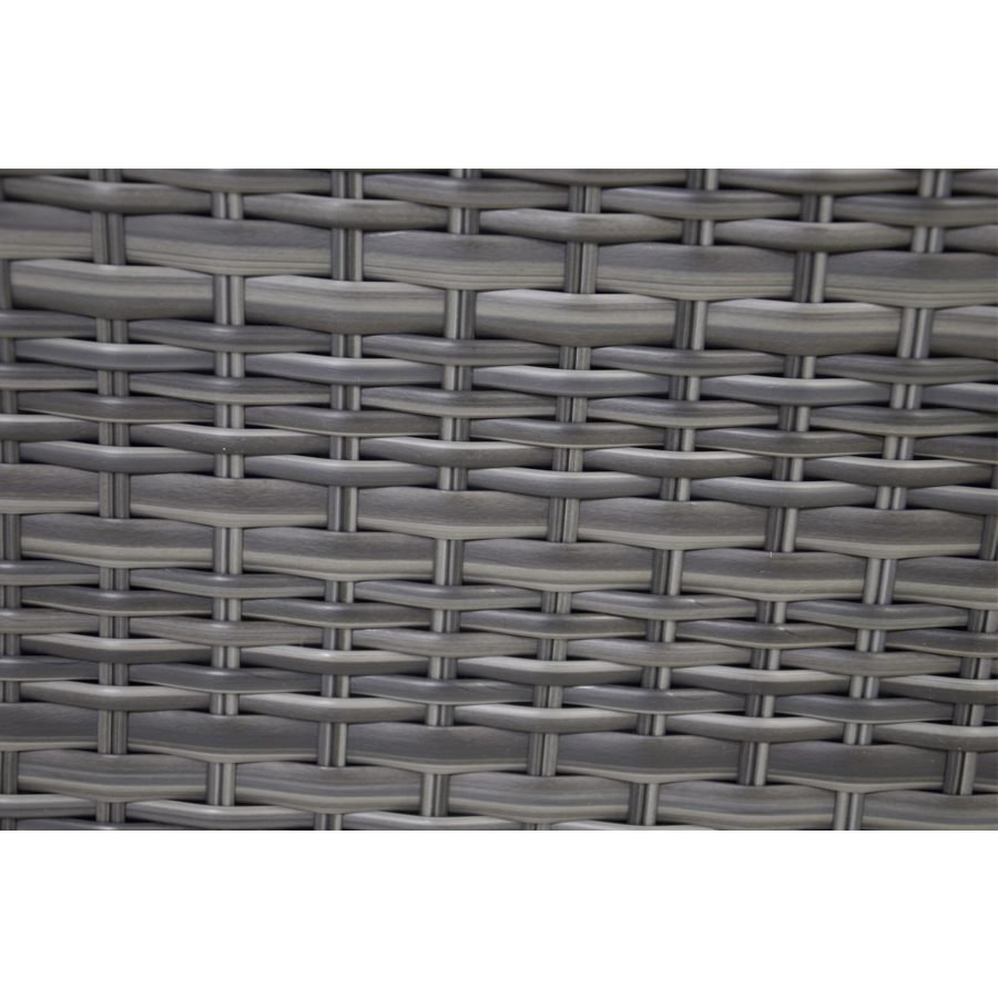 Hoek Loungeset - Prato Forte - Aluminium/Wicker - Lesli Living-5