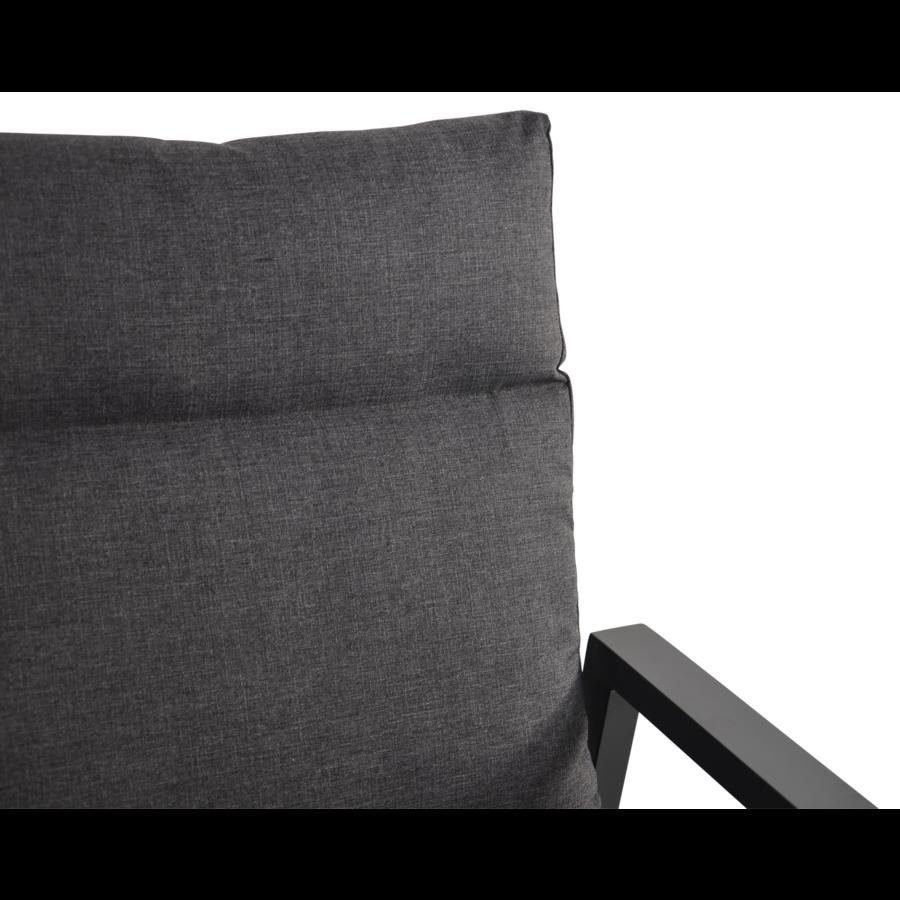 Hoek Loungeset - Ohio - Antraciet - Aluminium - Lesli Living-5
