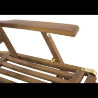 thumb-Deckchair - Lounge Tuinstoel - Teak - Lesli Living-5