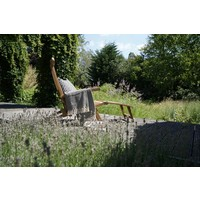 thumb-Deckchair - Lounge Tuinstoel - Teak - Lesli Living-3