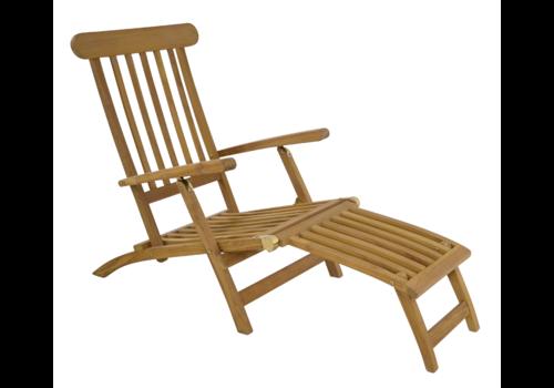 Deckchair - Lounge Tuinstoel - Teak - Lesli Living