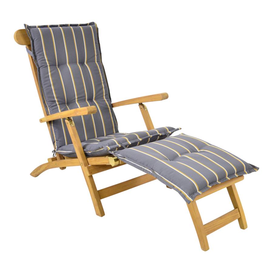 Deckchair - Lounge Tuinstoel - Teak - Lesli Living-4