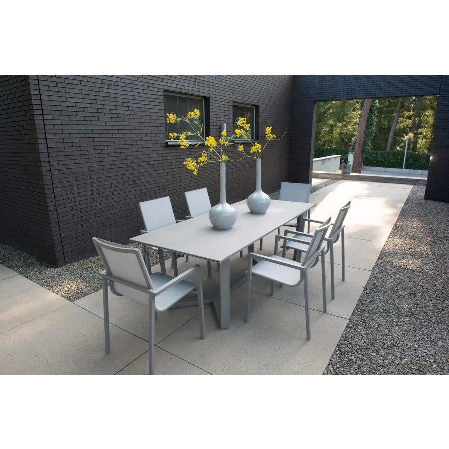 Tuinstoel Stapelbaar - Bari - Grijs - Taste by 4SO-3