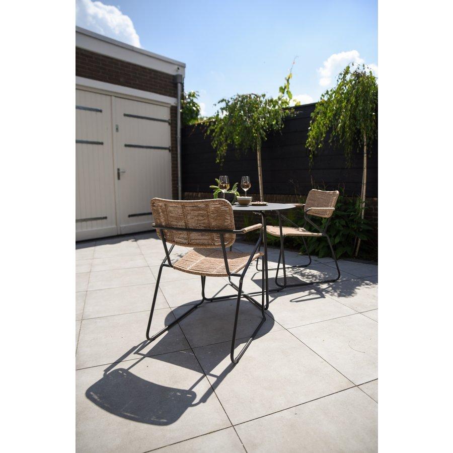 Tuinstoel Stapelbaar - Swing - Naturel - Wicker - Taste by 4SO-4