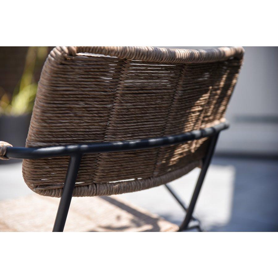 Tuinstoel Stapelbaar - Swing - Naturel - Wicker - Taste by 4SO-8