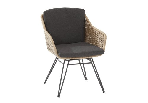 Dining Tuinstoel - Bohemian - Naturel - Wicker - Taste by 4SO