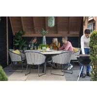 thumb-Dining Tuinstoel - Bo - Antraciet - Wicker - Taste by 4SO-4