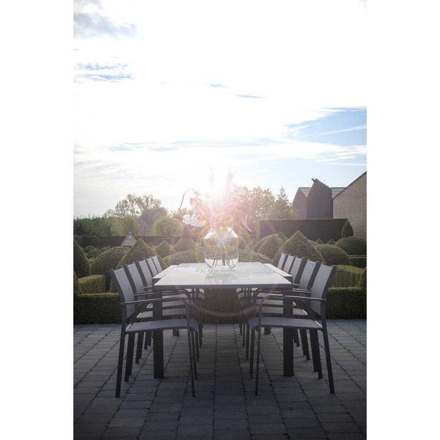 Tuinstoel Stapelbaar - Tosca - Matt Carbon - Taste by 4SO-3