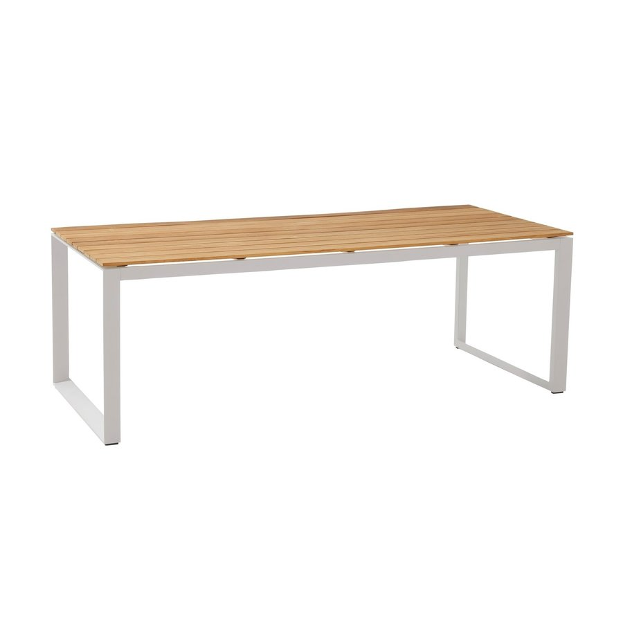 Tuintafel - Heritage - Wit - Teakhout - 220x95 cm - Taste by 4SO-2