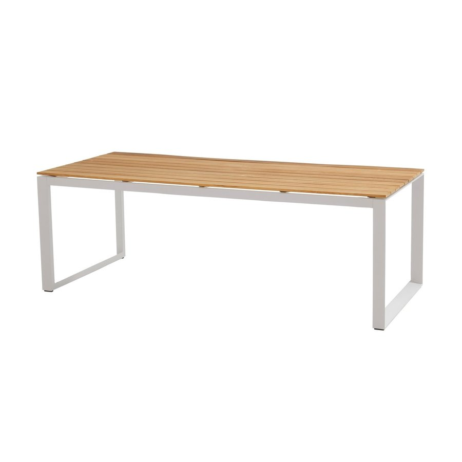 Tuintafel - Heritage - Wit - Teakhout - 220x95 cm - Taste by 4SO-1