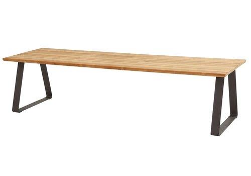 Tuintafel - Basso - Teak / Aluminium - 300x100 cm - Taste by 4SO