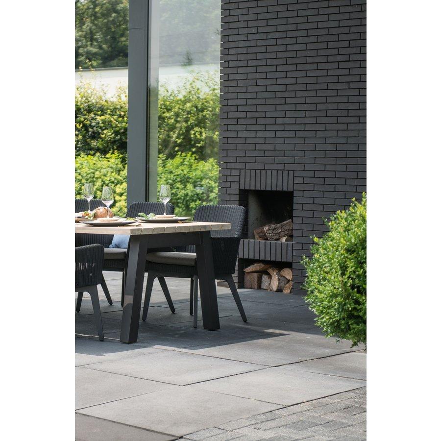 Tuintafel - Derby - Teak / Aluminium - 300x100 cm - Taste by 4SO-3