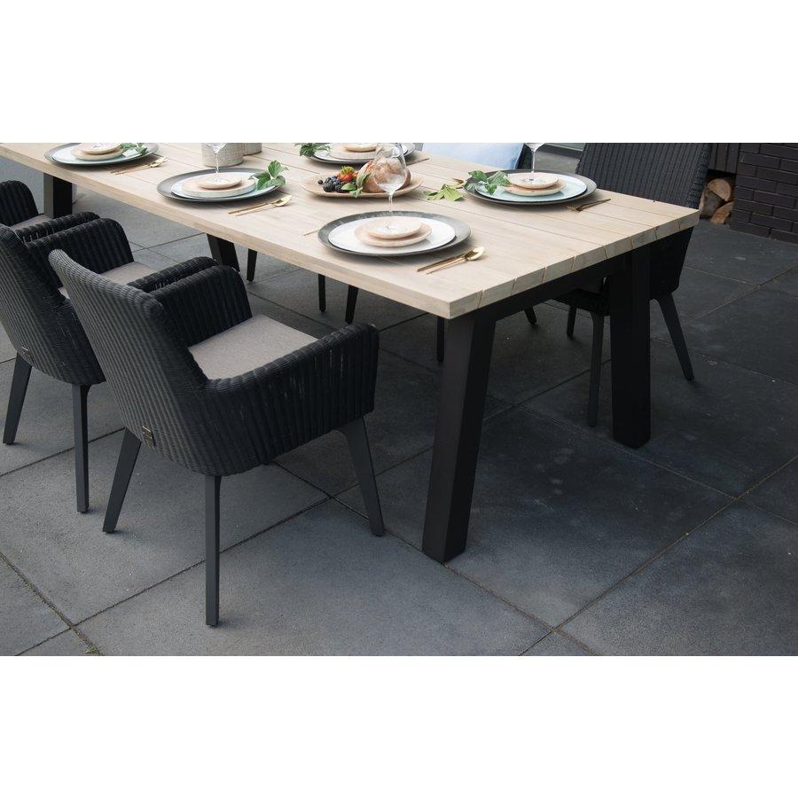 Tuintafel - Derby - Teak / Aluminium - 300x100 cm - Taste by 4SO-4