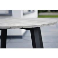 thumb-Ronde Tuintafel - Derby - Ø 130 cm - Teak / Aluminium - Taste by 4SO-3