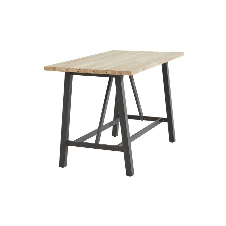 Bartafel Buiten - Derby - Teak / Aluminium - 160x90x105cm - Taste by 4SO-6
