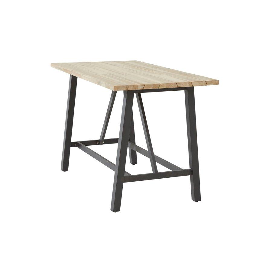 Bartafel Buiten - Derby - Teak / Aluminium - 160x90x105cm - Taste by 4SO-2