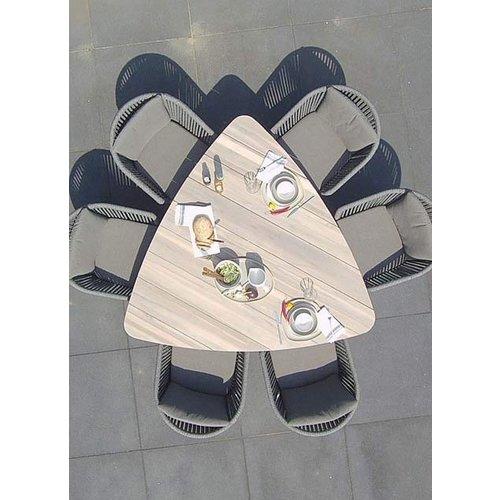 Taste by 4SO Driehoekige Tuintafel - Derby - 170 cm - Teakhout - Taste by 4SO