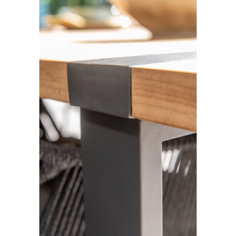 Tuintafel - Alto - Teak / Aluminium - 180x100 cm - Taste by 4SO-9
