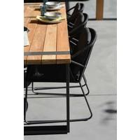 thumb-Tuintafel - Alto - Teak / Aluminium - 180x100 cm - Taste by 4SO-7