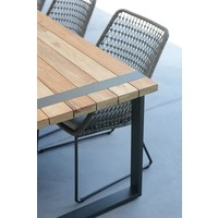thumb-Alto - Teak / Aluminium - 240x100 cm - Taste by 4SO-7