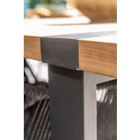 thumb-Alto - Teak / Aluminium - 240x100 cm - Taste by 4SO-9