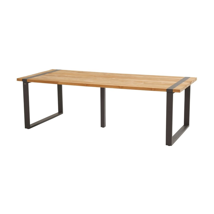Alto - Teak / Aluminium - 240x100 cm - Taste by 4SO-2