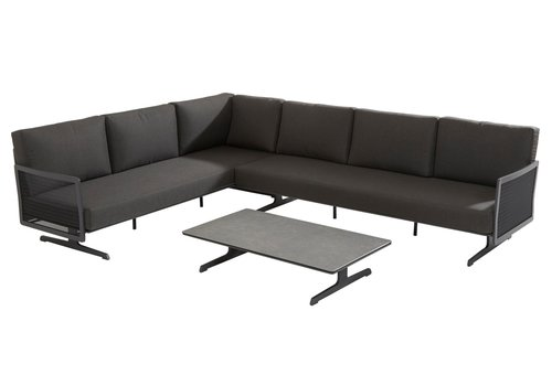 Hoek Loungeset - Sunray - Aluminium - Taste by 4SO