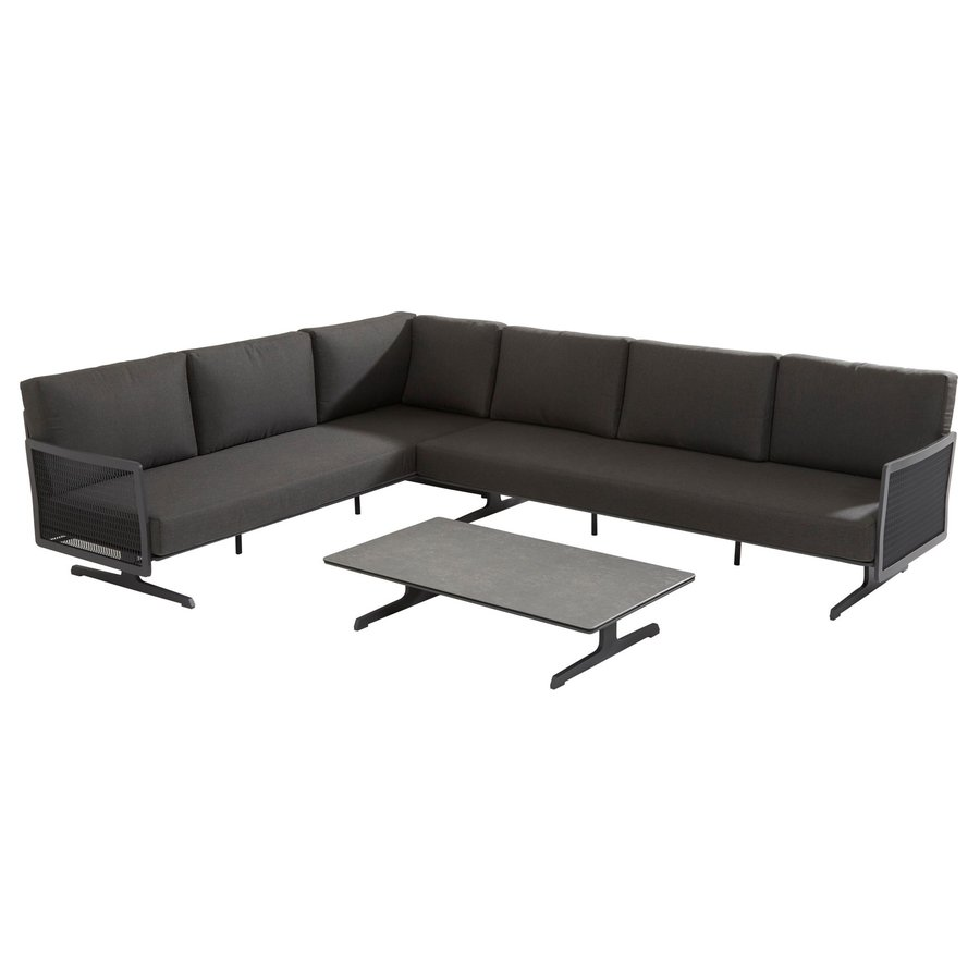 Hoek Loungeset - Sunray - Aluminium - Taste by 4SO-1